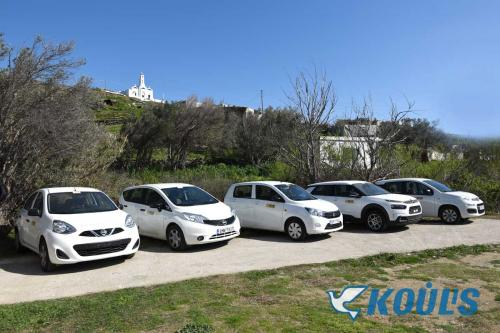 Koulis Rent a car Tinos Cyclades Greece